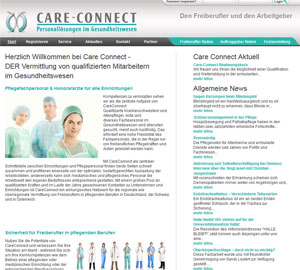 Care-Connect Homepage