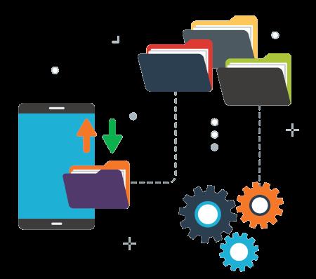 Cloud-Speicher für einen zentralen Zugriff auf alle Ihre Datentest